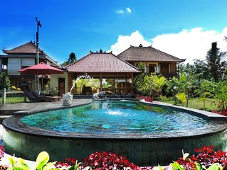 Beautiful guesthouse just 5 minutes from Ubud center
