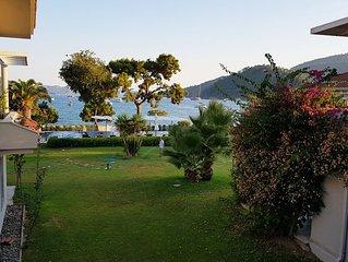 Gorgeous, Seafront Duplex w/Pool in Gocek, Fethiye