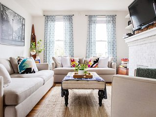 Eclectic Short North Home w/Free Parking: Walk to Coffee, Food & Shopping