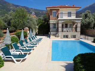 Golden Trio Villa 2 with unlimited secure wifi &  large private pool