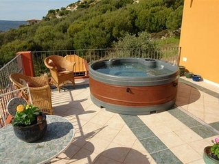 Luxury Family Villa with Two Spa Pools in  4 acreas of Olive Grove