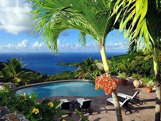 Canefield House - Luxury 3 Bedroom Villa On Tortola