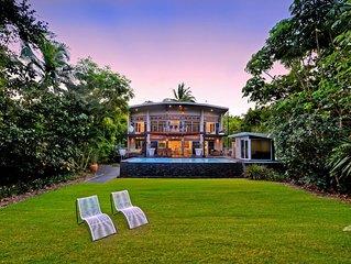 Luxury beachfront retreat