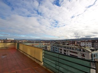Nice and relax penthouse in Oviedo center. Precioso y tranquilo Atico Oviedo