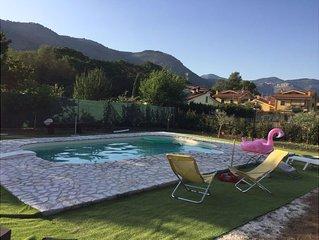 Alloggio privato ad uso turistico con piscina