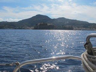 Romantico Monolocale sulla spiaggia a Lipari con terrazza privata- Wi-fi