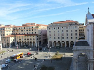 appartamento con vista sul Duomo in Piazza Grande a Livorno