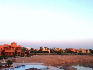 El Gouna Two bed rooms west golf apartment