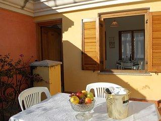 Appartamento Le Bouganville 350 mt dal mare 4 posti letto