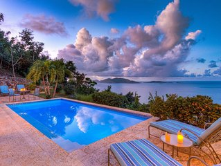 Azure Vista - relaxing family villa with amazing views and pool