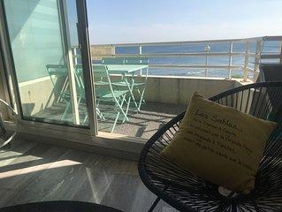 Studio vue à 180° sur l'océan et la baie des Sables d'Olonne
