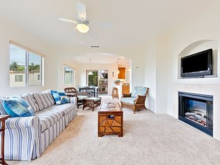 20% OFF JULY - Bright Sanctuary w/ 2 Master Suites + Walk to Beach