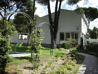 Stunning Villa with garden and swimming pool near Madrid