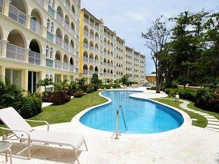 105 Sapphire Beach Condo (2Bedroom/2Bathroom) On The Dover Beach, Barbados.