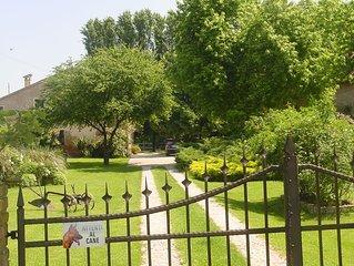 Villa Camilla. Prestigiosa villa nella tranquilla, lussureggiante pianura padana