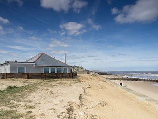 This property has uninterrupted sea views and the beach right on your doorstep.
