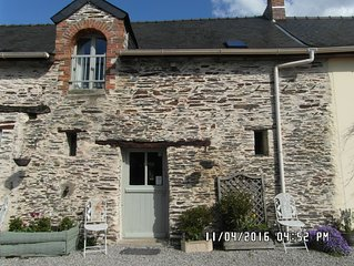 The Cottage- Rural Gite, - Three bedroom house near Chateaubriant