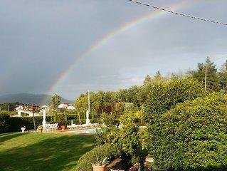 Podere Bacci e un paradiso immerso nella Toscana.