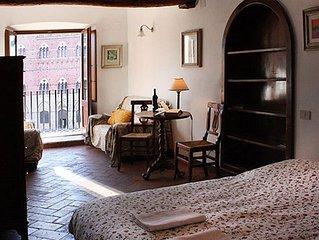 Appartamento il Palio, un balcone esclusivo sulla piazza piu bella del mondo