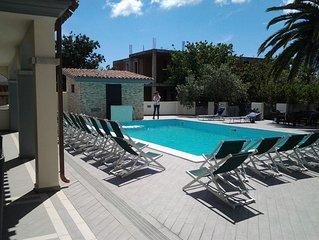 Appartamento in esclusivo residence con piscina a 900 metri dal mare
