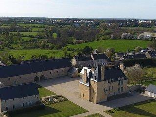Jolie maison aux portes de Bayeux dans un site exceptionnel.