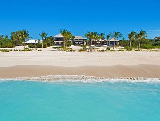 Beach House at Hawkbill -  Beach Front - Located in  Wonderful Grace Bay with Pr