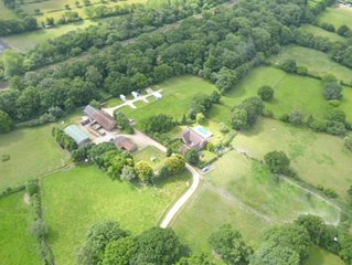 Tranquil, relaxing farm setting in the beautiful New Forest National Park
