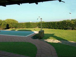 Villa La Rocca - Country Paradise con giardino e piscina privata vista mare