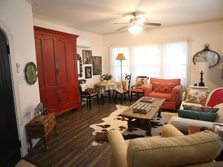 Charming one bedroom historic home in Lakewood area of Dallas