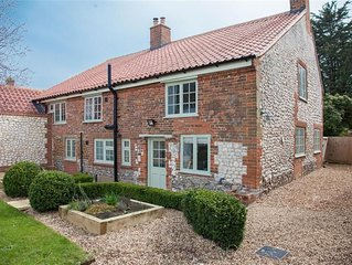 A beautiful, three-bedroom, newly renovated cottage in Thornham.