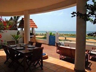 Beautiful beachfront villa in Santa Maria