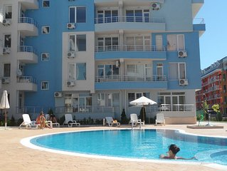 1 bedroom apartment for sale in Bulgaria in Sunny Beach in a quiet location