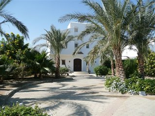 Luxury Detached Villa with Private heated Pool on The Red Sea, El Gouna, Egypt