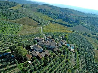 Country House / Farm House in Radda In Chianti with 5 bedrooms sleeps 10