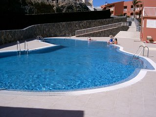 Large outdoor communal pool