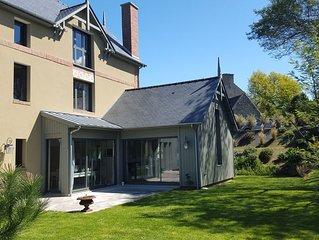 Balnéaire & familiale - grande maison confortable et récente (2013)
