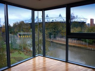 Waterside Large 5* Luxury Olympic Park Stratford Bow Hackney Wick Boutique HUGE