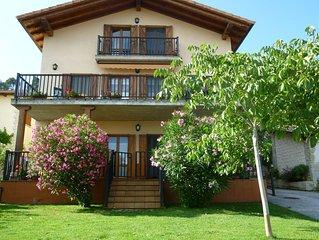 Apartamento con bonitas vistas cerca de Pamplona.