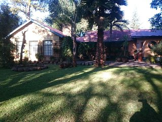 4 bedroom bungalow set in beautiful garden