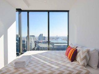 Modern 1-BR Apartment + Seaview!