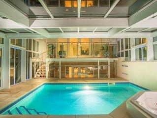 Sandbanks Peninsula Stunning Modern Luxury House - Heated Pool & Hot Tub