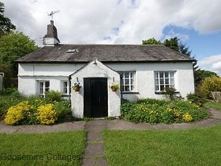Detached Lakeland cottage. Fascinating Quaker history dating back to 1703 at the