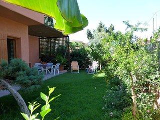 SUD SARDEGNA-casa vacanza a 250 m dal mare con giardino privato