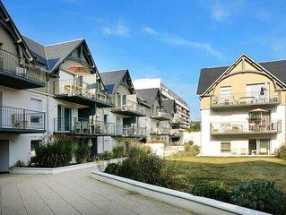 Apartment Les Jardins d'Arvor  in Benodet, Finistere - 4 persons, 2 bedrooms