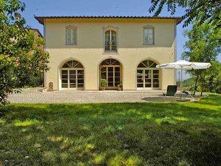 Villa in San Miniato, Florentine hills, Arno Valley, Italy