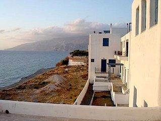 Holiday Apartment on Beach in Skyros Island, Greece