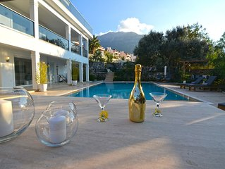 5 bedroom luxury villa with private pool and garden in oludeniz
