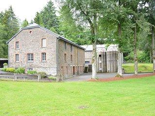 Vintage Farmhouse in Gouvy with Garden
