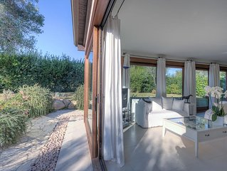Is Molas Golf One - Modern villa on a private golf estate in Sardinia, Italy