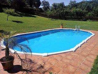 Casa con piscina en el umbral de los Picos de Europa